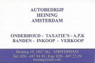 Autobedrijf Heining Amsterdam