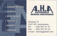A.H.A Autobedrijf heining